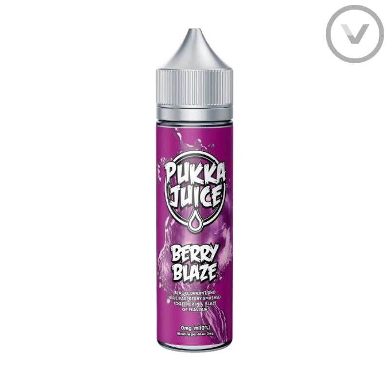 Pukka - Berry Blaze 50ml Short Fill Vape Juice - Vape Direct
