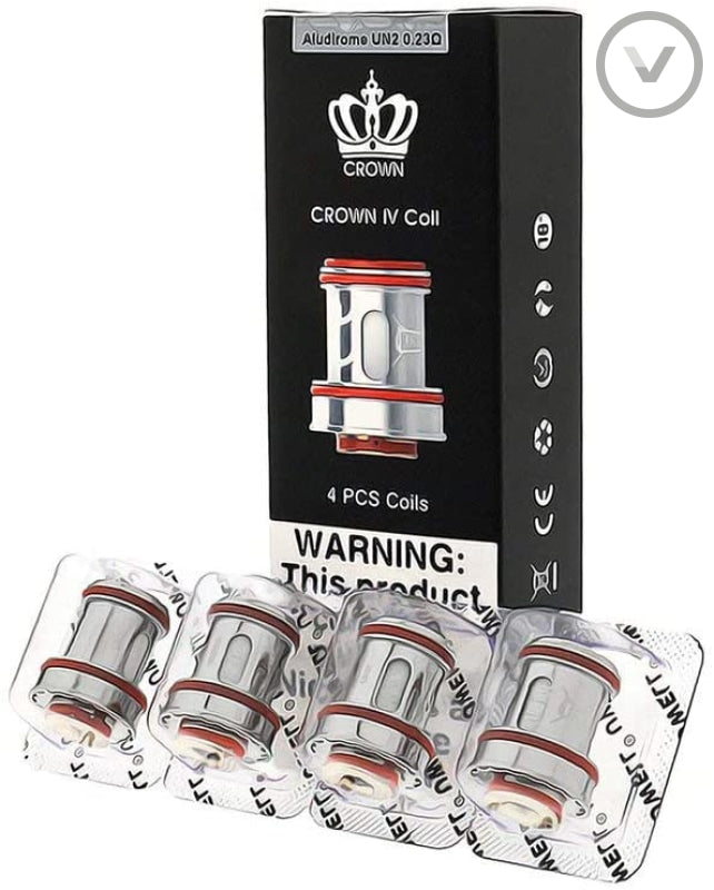 Uwell Crown 4 Replacement Coils - Vape Direct