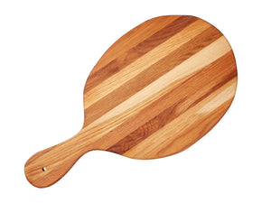 Large oval shaped serving board