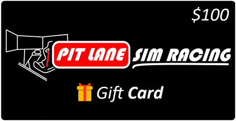 Pit Lane Sim Racing $100 Gift Card