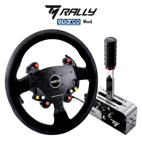 Thrustmaster Rally Sparco MOD Pack TSS Handbrake+ & P383 Wheel