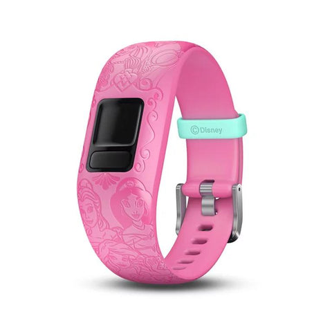 Garmin Accy Bands (Strap Only), vivofit jr2, Adjustable, Princess, Pink