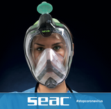 SEAC Libera Full Face Mask + Antiviral Adaptor