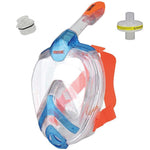 SEAC Unica Full Face Mask + Antiviral Adaptor