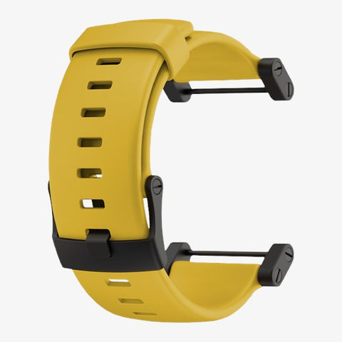 Suunto Core Crush Yellow Silicone Strap