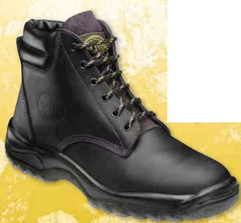 70939 OLIVER LACE-UP PADDED COLLAR BOOT CLARET - ON THE GO SAFETY & WORKWEAR