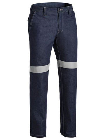 BP8091T BISLEY TAPED FR DENIM JEAN - ON THE GO SAFETY & WORKWEAR