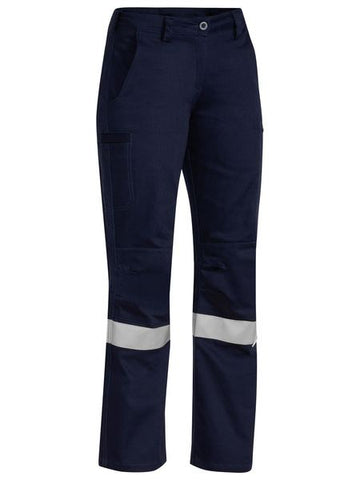 BISLEY Ladies 3M Taped Industrial Engineered Drill Pant BPL6021T