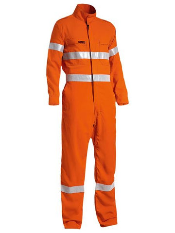 BC8178T BISLEY TENCATE TECASAFE PLUS TAPED HI VIS LIGHTWEIGHT COVERALL - ON THE GO SAFETY & WORKWEAR