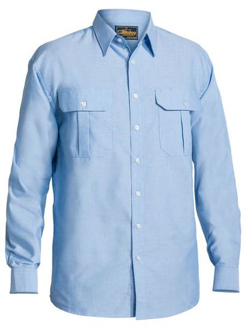 BISLEY Oxford Shirt - Long Sleeve BS6030