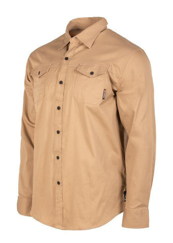 UNIT MENS SHIRT LONG SLEEVE CRAFTMAN 189113001 - ON THE GO SAFETY & WORKWEAR