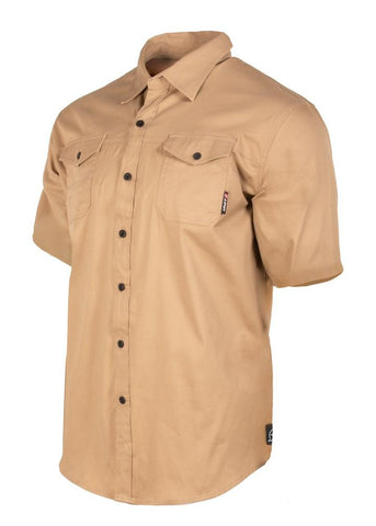 UNIT MENS SHIRT SHORT SLEEVE CRAFTMAN 189113003 - ON THE GO SAFETY & WORKWEAR