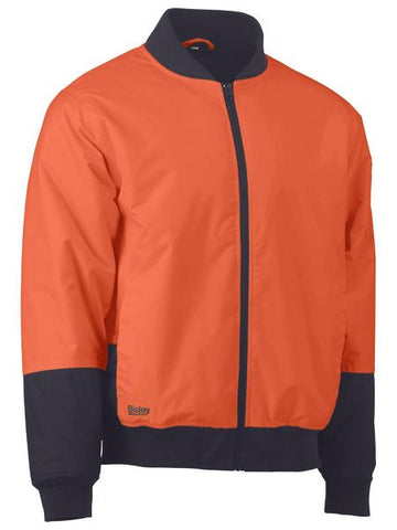 BISLEY Two Tone Hi Vis Bomber Jacket BJ6730