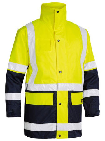 BISLEY 5 IN 1 RAIN JACKET BK6975 - ON THE GO SAFETY & WORKWEAR