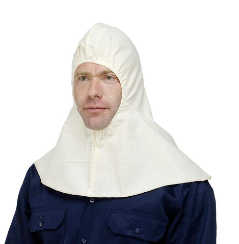 7PHC85 CALICO ELASTIC FACE CLOSURE SPRAY HOOD - ON THE GO SAFETY & WORKWEAR