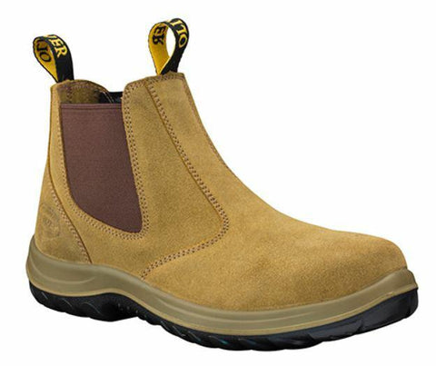 34624 OLIVER BOOT - BEIGE SUEDE - ON THE GO SAFETY & WORKWEAR
