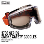 3702 PRO CHOICE GOGGLES SMOKE OUTDOOR TINTED - ON THE GO SAFETY & WORKWEAR