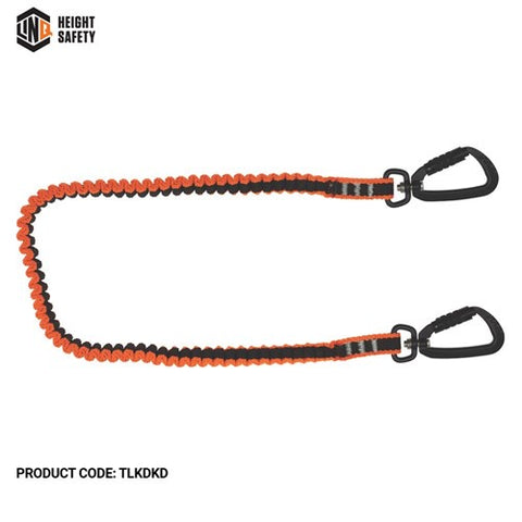 TLKDKD LINQ Tool Lanyard With 2 X Double Action Karabiners - ON THE GO SAFETY & WORKWEAR