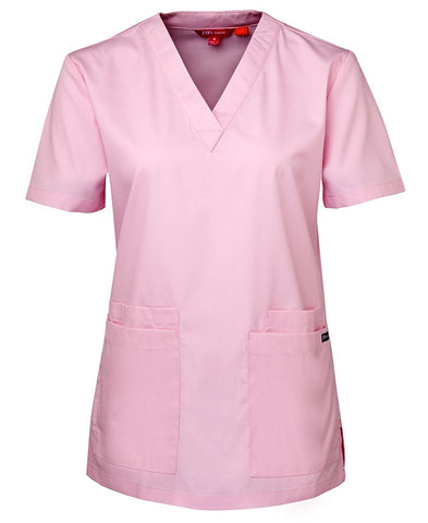 4SRT1 JB'S LADIES SCRUBS TOP - ON THE GO SAFETY & WORKWEAR