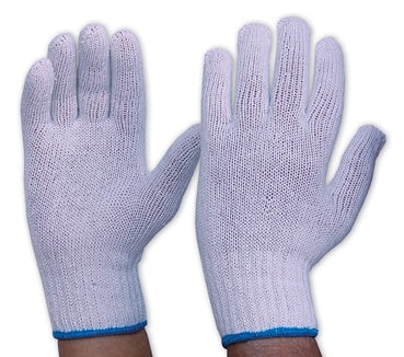 342K KNITTED POLY/COTTON LINER KNITTED WRIST MENS - ON THE GO SAFETY & WORKWEAR