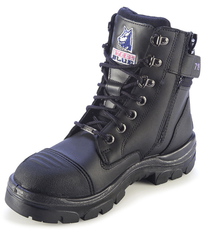 Steel Blue Ladies Southern Cross Zip Scuff Safety Boots 512719