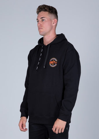 UNIT 203115015 MENS FLEECE - HOODIE - BLAZE