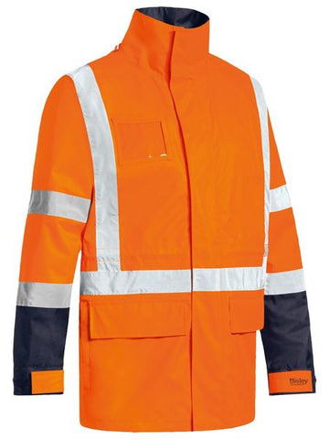 BJ6377HT BISLEY TTMC-W 5 IN 1 WET WEATHER JACKET - ON THE GO SAFETY & WORKWEAR