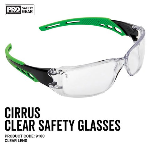 Pro Choice Safety Glasses - Cirrus