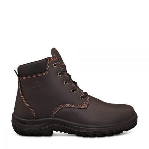 26636 OLIVER BOOT - CLARET - ON THE GO SAFETY & WORKWEAR