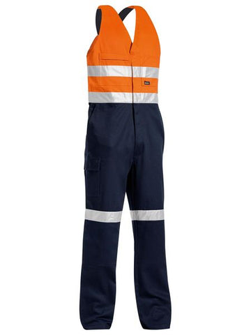BAB0359T BISLEY 3M TAPED HI VIS ACTION BACK OVERALL - ON THE GO SAFETY & WORKWEAR