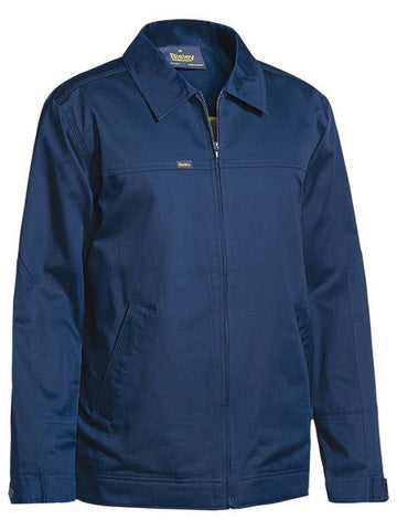 BJ6916 BISLEY COTTON DRILL JACKET WITH LIQUID REPELLENT FINISH - ON THE GO SAFETY & WORKWEAR