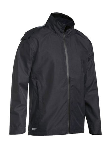BJ6926 BISLEY LIGHTWEIGHT RIPSTOP RAIN JACKET - ON THE GO SAFETY & WORKWEAR