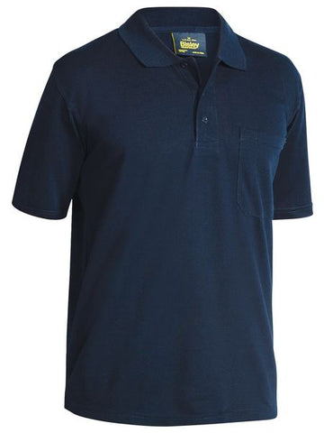 BK1290 BISLEY MENS POLY/COTTON POLO SHIRT - ON THE GO SAFETY & WORKWEAR