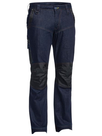 BP6135 BISLEY FLEX & MOVE DENIM JEAN - ON THE GO SAFETY & WORKWEAR
