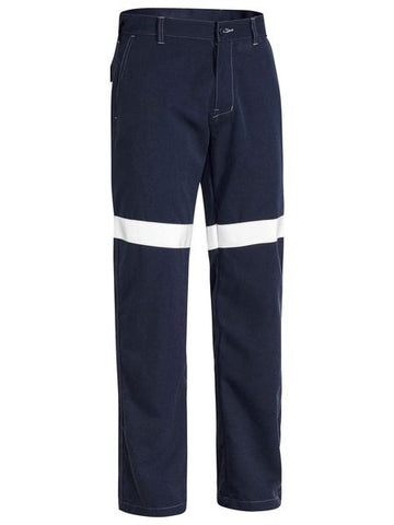 BP8190T BISLEY TENCATE TECASAFE PLUS 580 TAPED LIGHTWEIGHT FR PANT - ON THE GO SAFETY & WORKWEAR