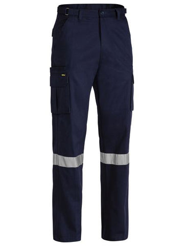BPC6007T BISLEY 8 POCKET CARGO PANT 3M REFLECTIVE TAPE - ON THE GO SAFETY & WORKWEAR