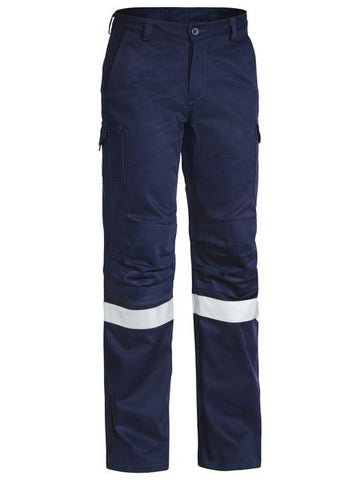 BPC6021T BISLEY 3M TAPED INDUSTRIAL ENGINEERED MENS CARGO PANT - ON THE GO SAFETY & WORKWEAR