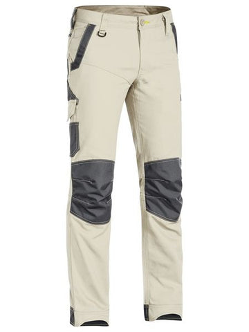 Bisley - Flex & Move Stretch Utility Zip Cargo Pant BPC6130 - ON THE GO SAFETY & WORKWEAR