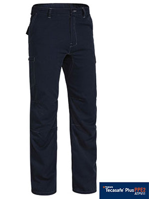 BPC8092 BISLEY TENCATE TECASAFE PLUS 700 ENGINEERED FR VENTED CARGO PANT - ON THE GO SAFETY & WORKWEAR