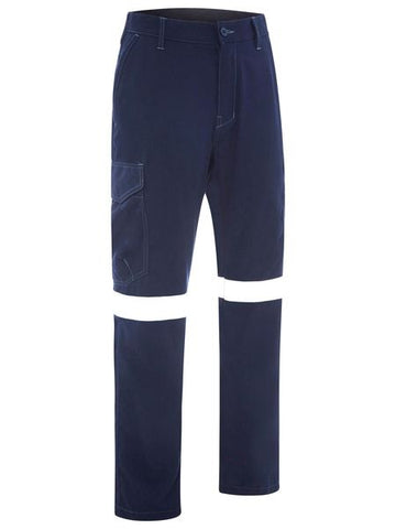 BPC8189T BISLEY TAPED TENCATE TECASAFE PLUS 580 TAPED LIGHTWEIGHT FR CARGO PANT - ON THE GO SAFETY & WORKWEAR