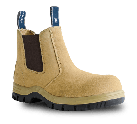 BATA MERCURY SAFETY BOOT - SAND 703-80514 - ON THE GO SAFETY & WORKWEAR