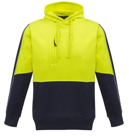 SYZMIK HI VIS PULLOVER HOODIE   ZT481 - ON THE GO SAFETY & WORKWEAR