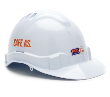 Pro Choice Hard Hat - Vented Pushlock Harness HHV6