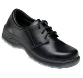 48450 OLIVER LACE UP SHOE - BLACK - ON THE GO SAFETY & WORKWEAR