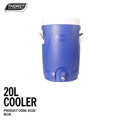 THORZT Drink Cooler 20 Litre - Blue DC20
