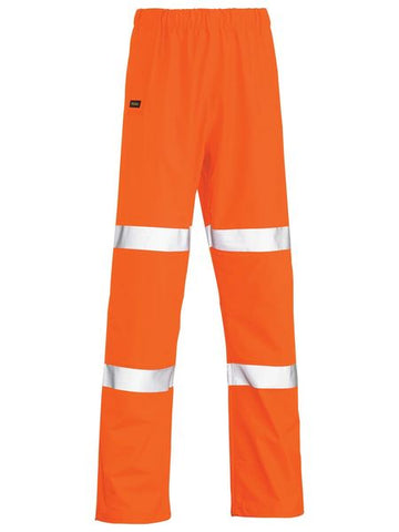 BP6936T BISLEY TAPED STRETCH PU RAIN PANT - ON THE GO SAFETY & WORKWEAR