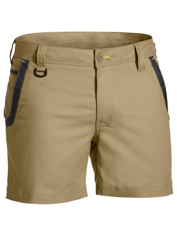 Bisley - Tradies Flex & Move Short Shorts BSH1131 - ON THE GO SAFETY & WORKWEAR