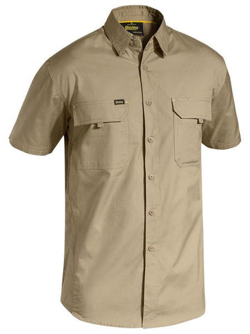 BISLEY X Airflow Ripstop Shirt - Short Sleeve BS1414