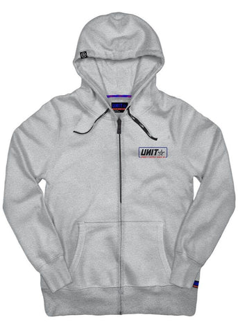 UNIT MENS HOODIE ZIP THROUGH CLAPPED 203115007 - ON THE GO SAFETY & WORKWEAR