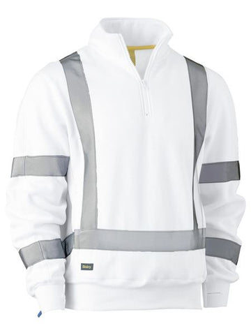 BK6321XT BISLEY X TAPED FLEECE PULLOVER - ON THE GO SAFETY & WORKWEAR